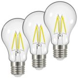 Airam LED Filament Normallampa 4,2W E27 3-pack