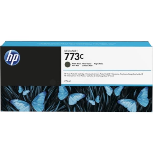 Pris på HP Blekkpatron mattsvart HP 773C, 775ml C1Q37A Tilsvarer: N/A