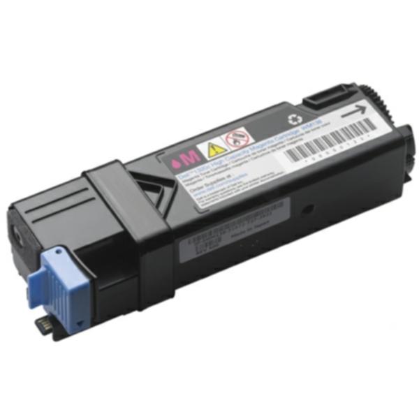 Pris på Dell Tonerkassett magenta 2.000 sider høy kapasitet (WM138) WM138 Tilsvarer: N/A