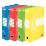 Arkivbox Esselte 80 mm sorterad 4/fp