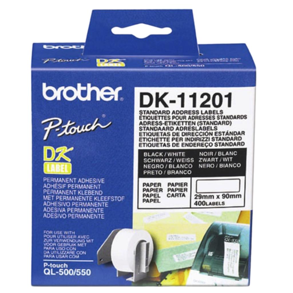 Etikett Brother universal 29x90 mm, 400 stk.