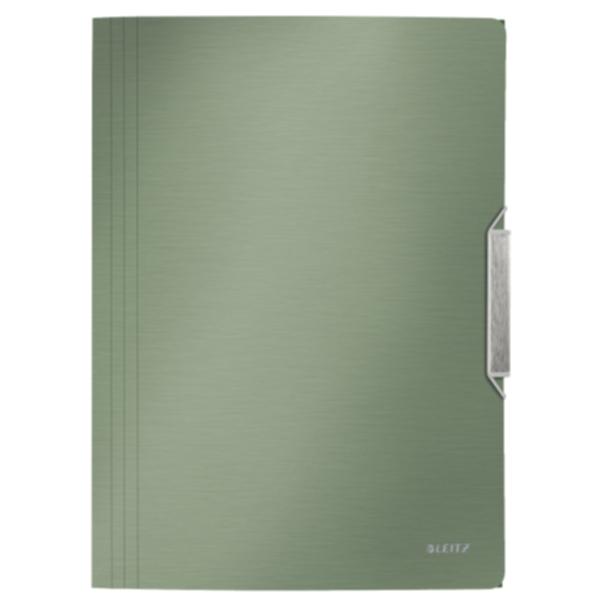 Bild av 3-klaffmapp Leitz Style PP A4 Cel.grön