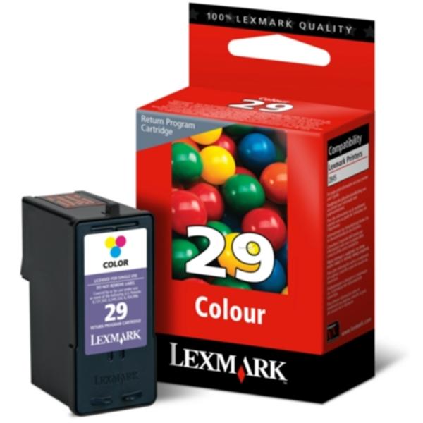 LEXMARK Blekkpatron 3 farge No 29, Return