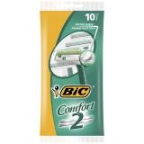 BIC Comfort 2 Kertakäyttöhöylät, 10 kpl