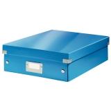 Sorteringslåda M Click & Store WOW blå