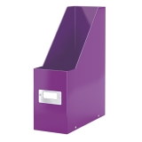 Magazine File Click & Store WOW Purple