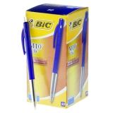 Kulepenn BIC Clic M10 blå Dokumentekte, 50 stk.