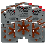 Rayovac Extra Advanced ACT 312 brun 5-pakk