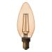 Airam Filament Antique LED Kronljus E14 2W