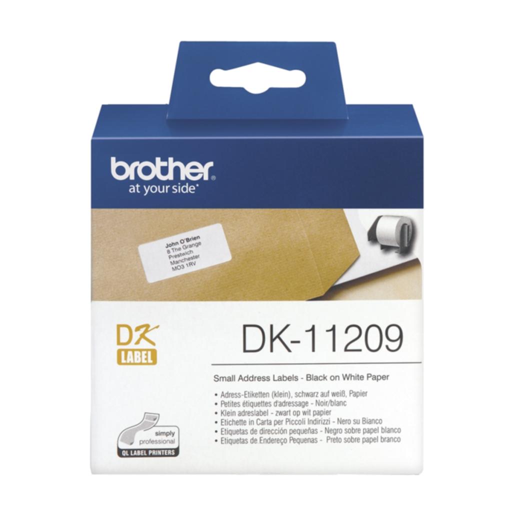 Etikett Brother universal 29x62 mm, 800 stk.