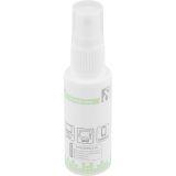 Deltaco för rengöring av skärmar, alkoholfri, 30 ml
