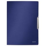 3-klap elastikmappe Leitz StylePPA4 blå