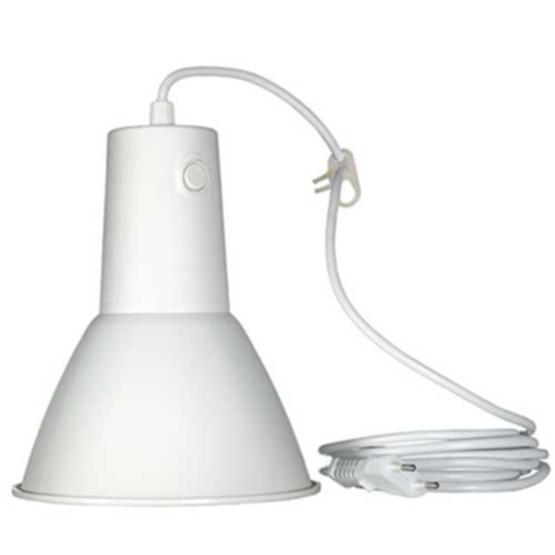 AIRAM plantebelysning med lyspære, LED 6,5W E27 Hvit