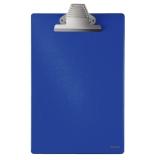 Clipboard uden forside stor kapacit. blå