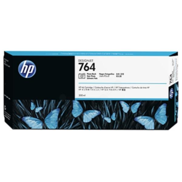 Pris på HP Blekkpatron svart foto HP 764, 300ml C1Q17A Tilsvarer: N/A