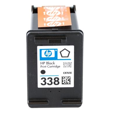HP HP 338 Black Original Ink Cartridge, 11 ml