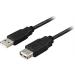 USB förlängningskabel 0.5m, USB2-11S