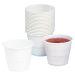 Plastbeger innsats Combi 21cl hvit, 80 st