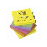 Notes POST-IT Z-block 76x76mm rainbow (6)