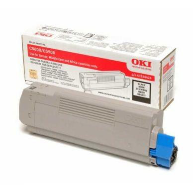 OKI C5900 BK (43324424) sort Lasertoner,