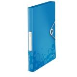 Boxmapp Leitz WOW PP blå