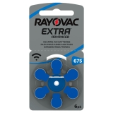 Rayovac extra advanced ACT 675 blå
