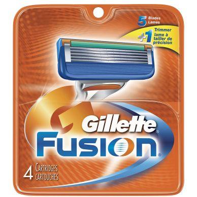 Bild Gillette Gillette Fusion 4-Pack Rasierklingen