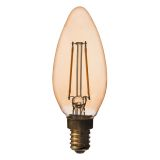 Airam Filament Antique LED Kronljus E14 3W