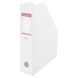 Tidsskriftsamler PVC A4 70mm hvid