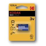 Kodak Max lithium 123LA