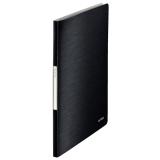 Displaybog Leitz Style PP 20 lommer sort
