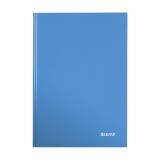 Anteckningsbok Leitz Wow  A4 linjerat blå