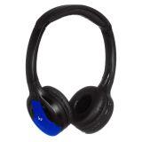 Kitsound Arcade trådlösa hörlurar On-Ear, blå
