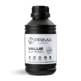 PrimaCreator Value UV / DLP DLP Resin - 500 ml - Ljusgrå