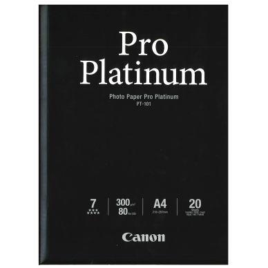 CANON Valokuvapaperi Pro Platinum A4 20 arkkia, 300g (PT-101)