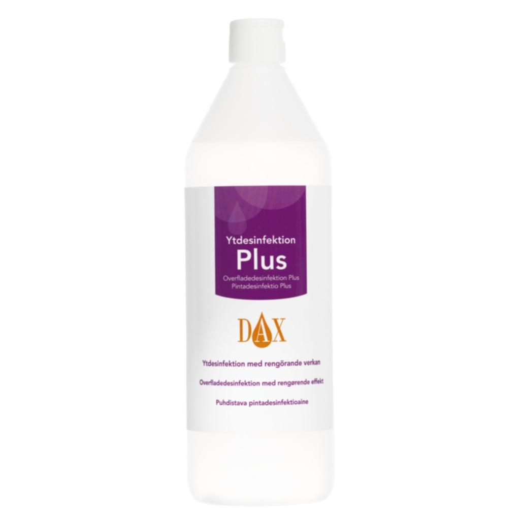 DAX Overfladedesinfeksjon Plus 1 L N/A