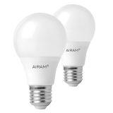 Airam LED Normallampa E27 7W, 2-pack
