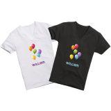 T-shirt transfer, selvlysende, 10x15 cm, 10 ark