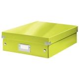 Sorteringslåda M Click & Store WOW grön