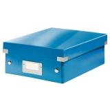 Sorteringslåda S Click & Store WOW blå