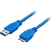 Deltaco USB A - USB Micro B 1m USB3-010
