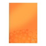 Muistikirja Leitz WOW A4 viivat oranssi