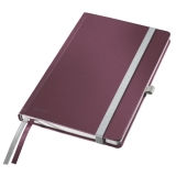 Notesblok Style A5 Hard linj. 80ark rød