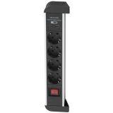 Airam 4-Vägs Grenuttag + 2 USB