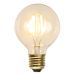 Decoration LED filament lampa G80 E27, 1,5W