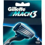 Gillette Mach3 4 pack rakblad