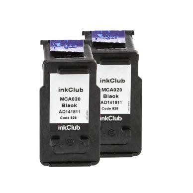 inkClub Bläckpatroner XL svarta (2 x MCA020) MCA020-2 Motsvarar: PG-540XL