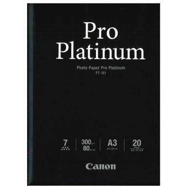 CANON Fotopapir Pro Platinum A3 20 ark 300g (PT-101)