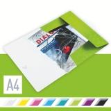 3-klap mappe Leitz WOW PP A4 Grønn