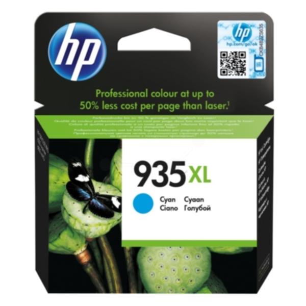 Pris på HP Blekkpatron cyan HP 935XL, 825 sider C2P24AE Tilsvarer: N/A
